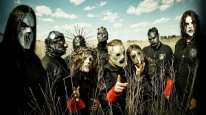 Slipknot is a heavy metal band. The name suggests that they are also a merry band of chocheters.